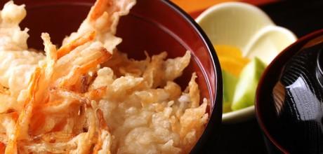 tempura y arroz