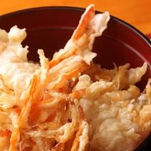 camarón tempura y verduras tempura