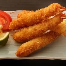 tempura de camaron ebi fried