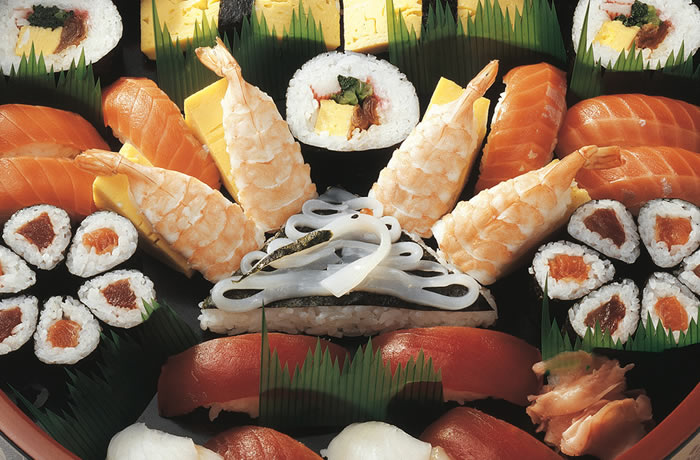 imagen de sushi surtido